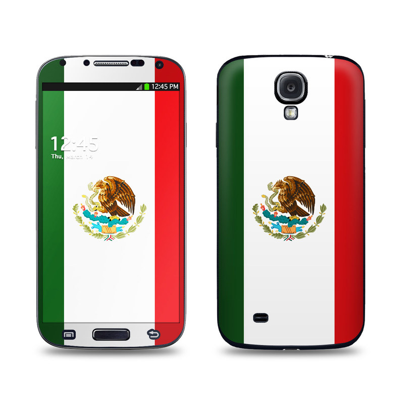 Mexican Flag Galaxy S4 Skin