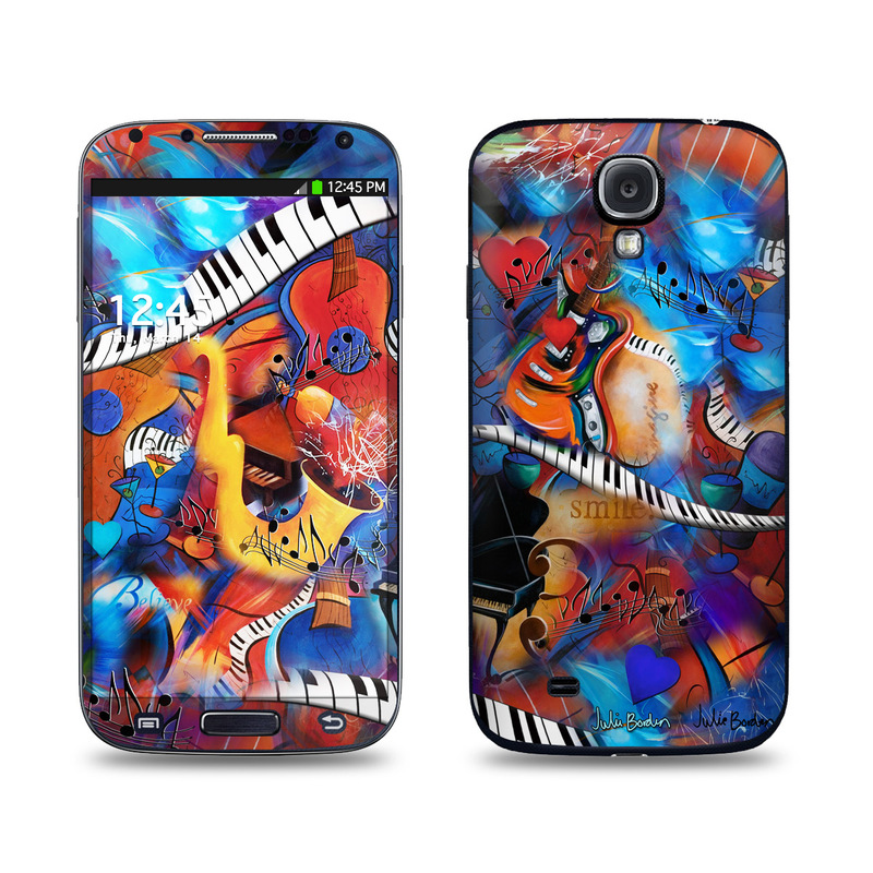 Music Madness Galaxy S4 Skin