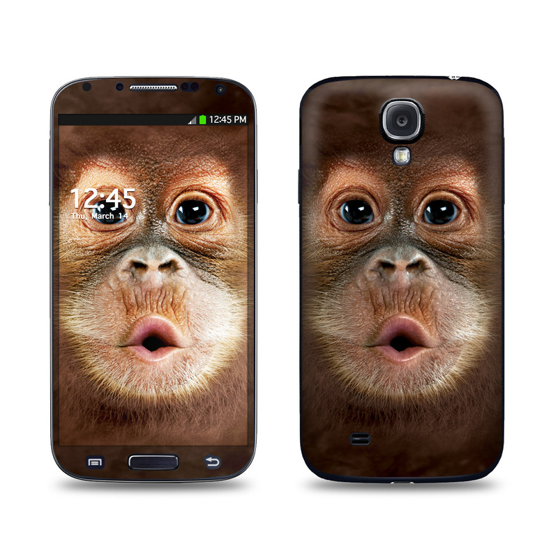 Orangutan Galaxy S4 Skin