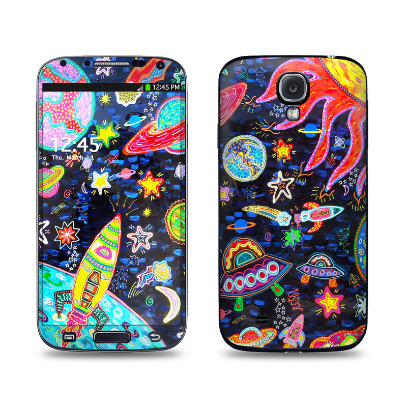 Out to Space Galaxy S4 Skin