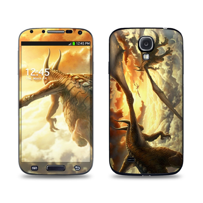 Over the Clouds Galaxy S4 Skin