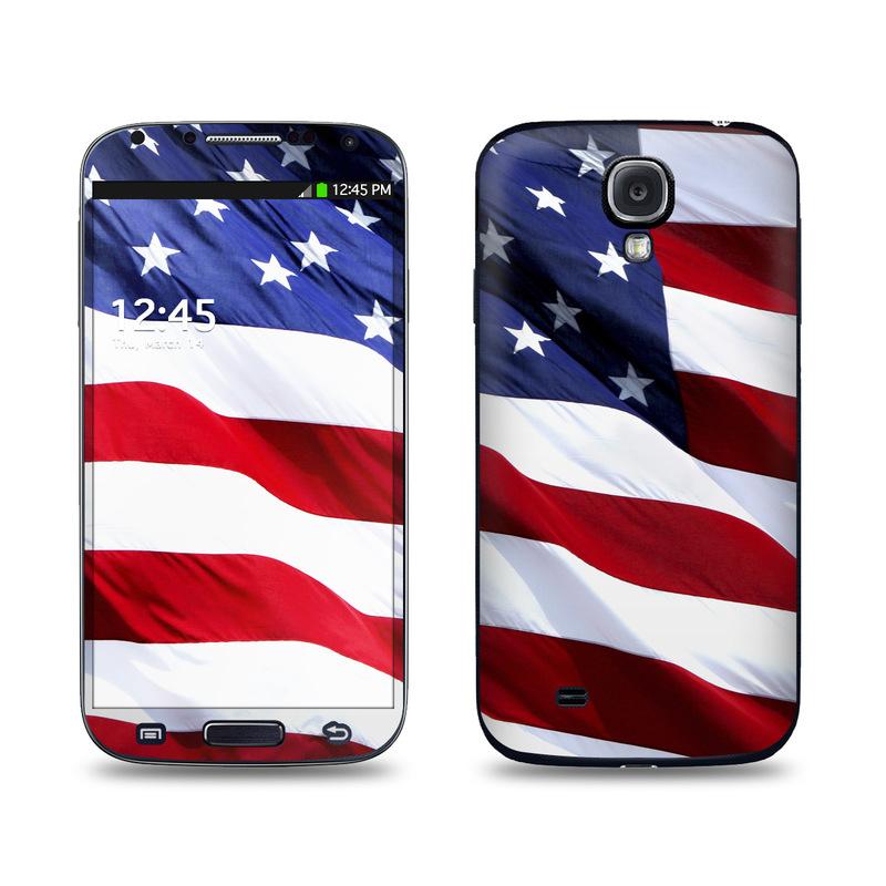 Patriotic Galaxy S4 Skin