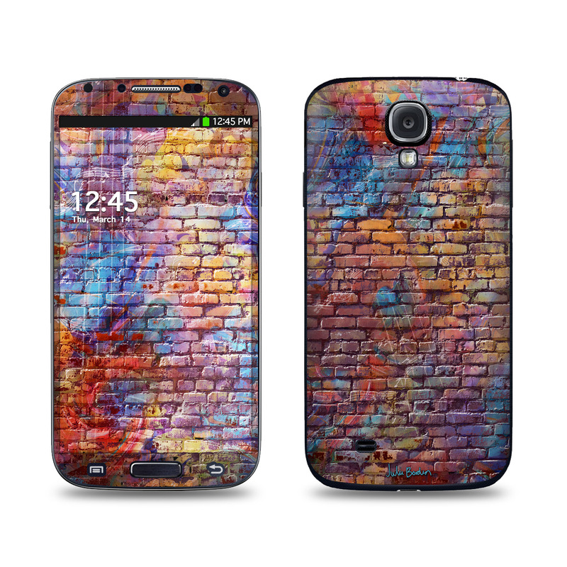 Painted Brick Galaxy S4 Skin