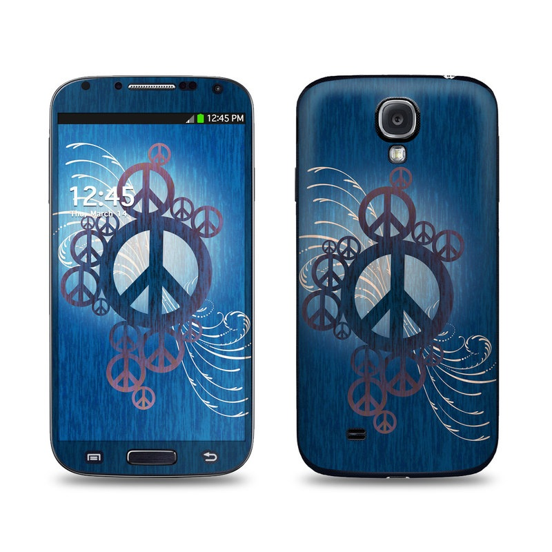 Peace Out Galaxy S4 Skin