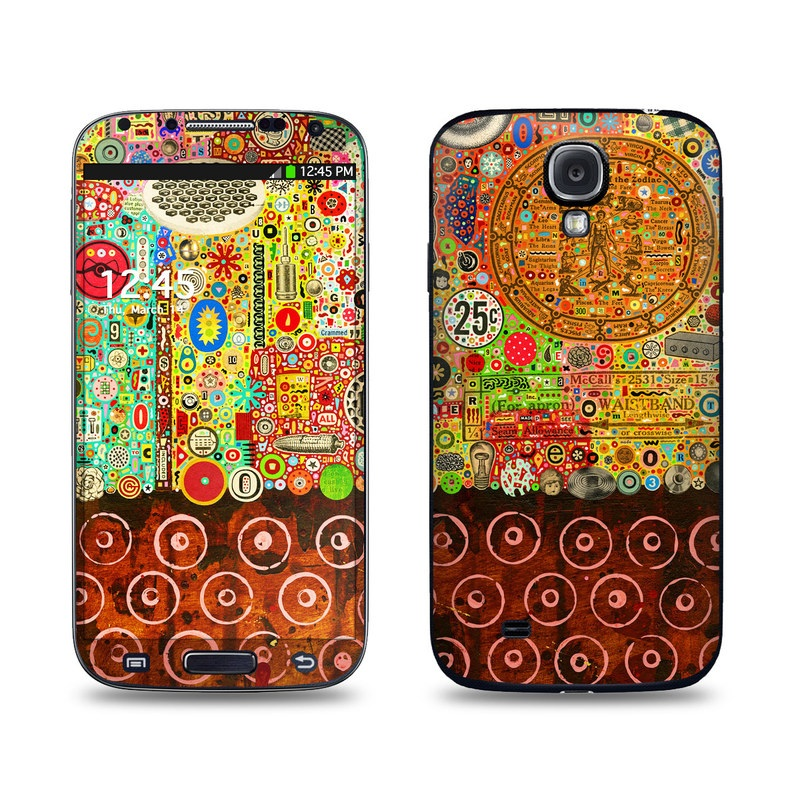 Percolations Galaxy S4 Skin