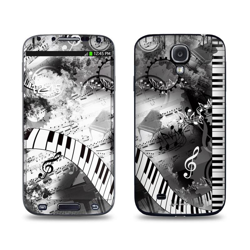 Piano Pizazz Galaxy S4 Skin