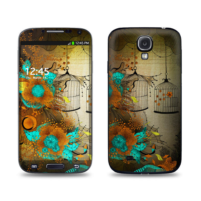 Rusty Lace Galaxy S4 Skin