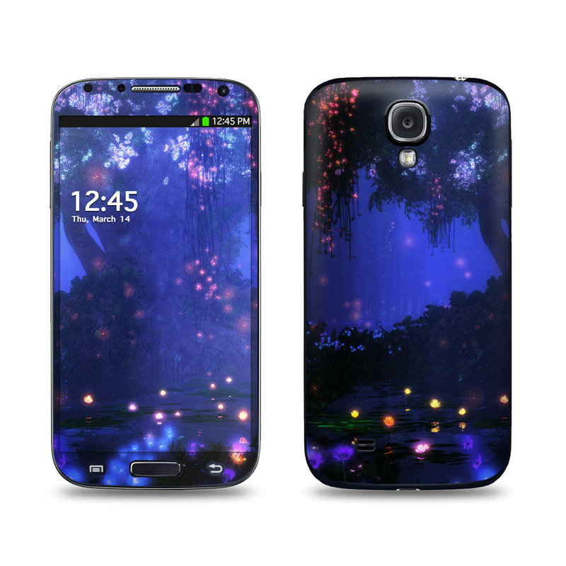Satori Night Galaxy S4 Skin
