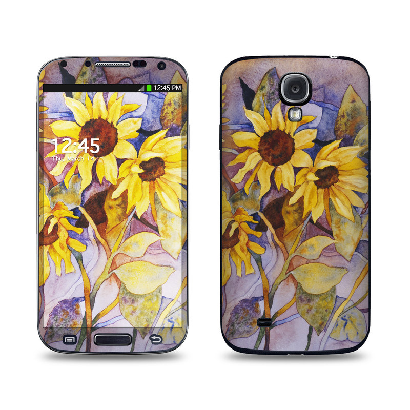 Sunflower Galaxy S4 Skin