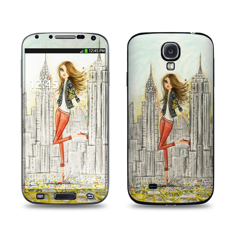 The Sights New York Galaxy S4 Skin