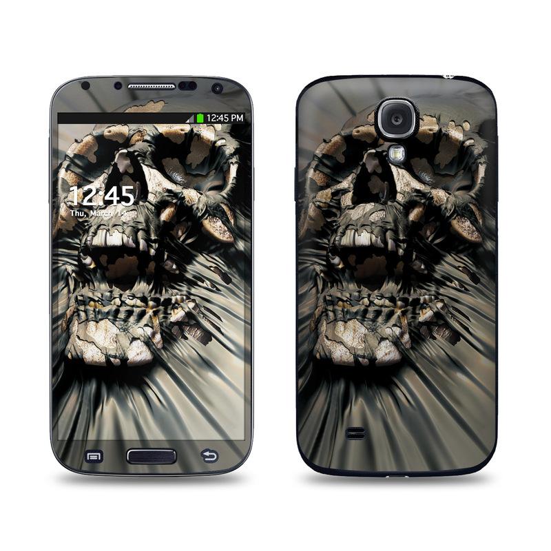 Skull Wrap Galaxy S4 Skin