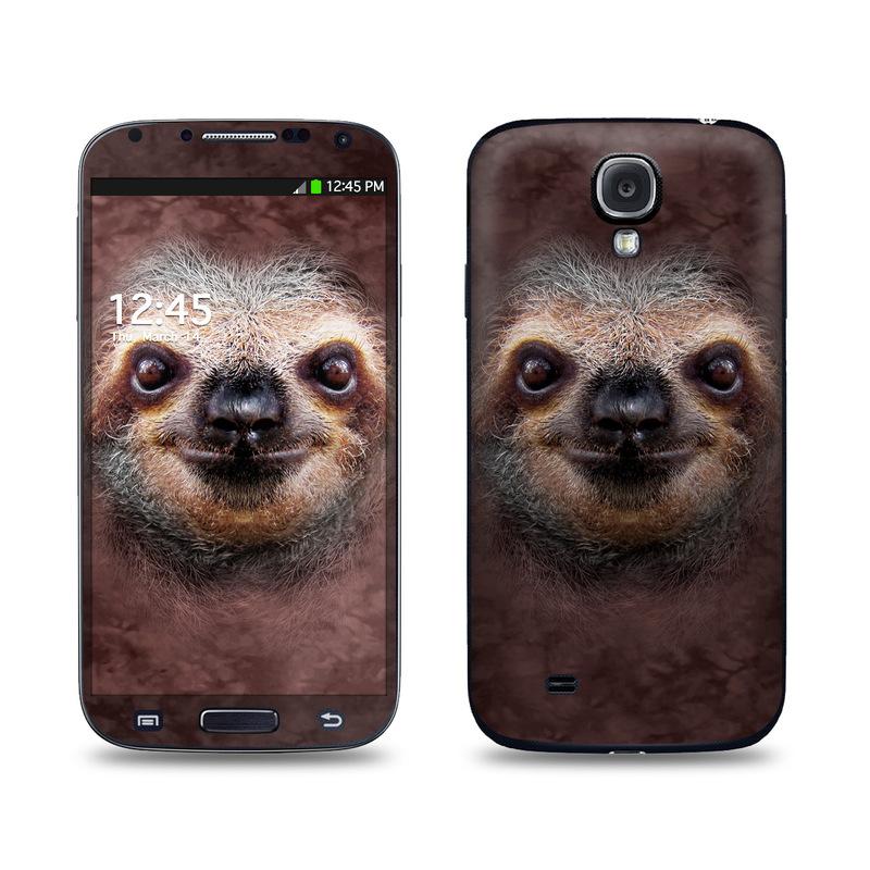Sloth Galaxy S4 Skin