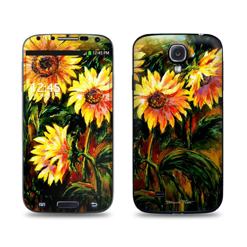 Sunflower Sunshine Galaxy S4 Skin
