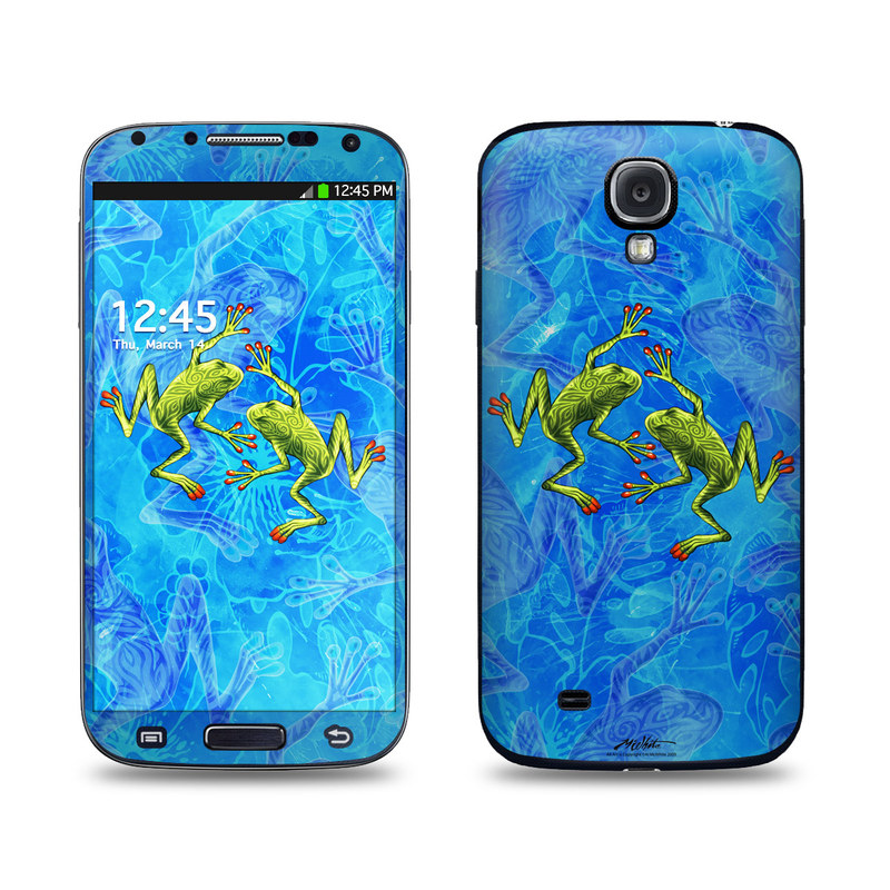 Tiger Frogs Galaxy S4 Skin