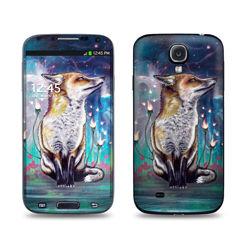 There is a Light Galaxy S4 Skin