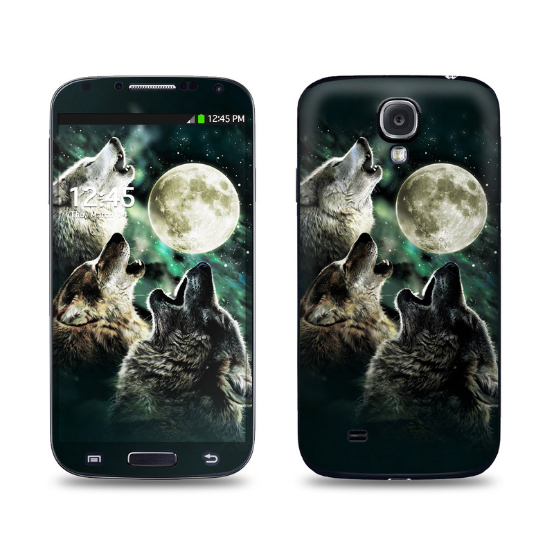 Three Wolf Moon Galaxy S4 Skin
