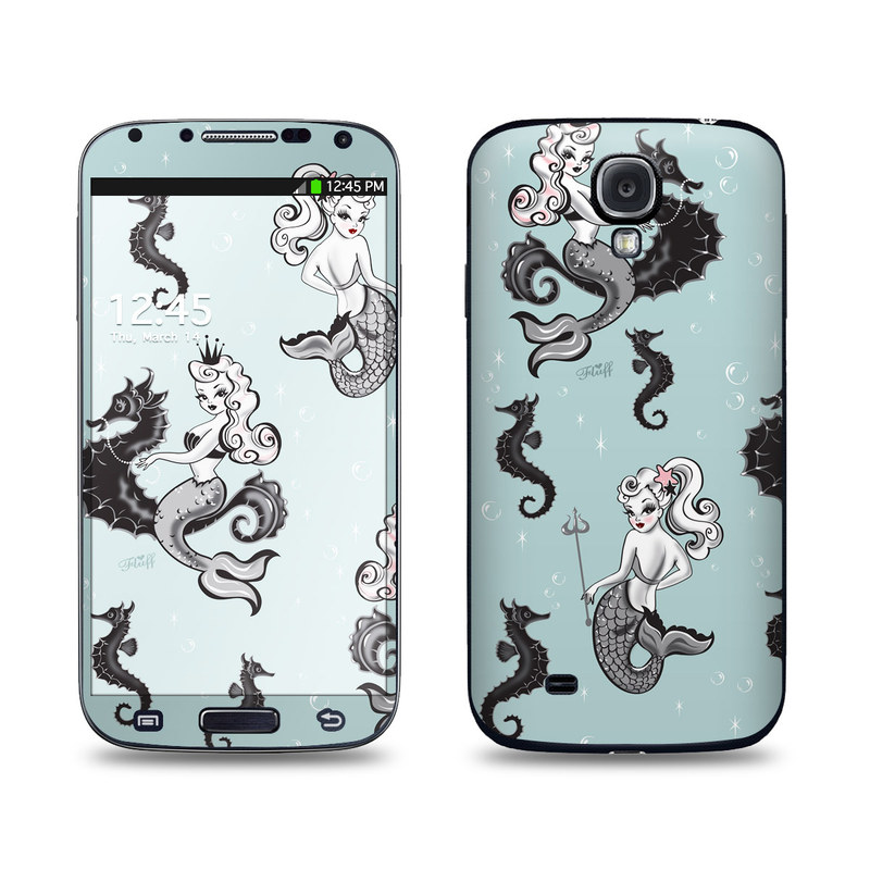 Vintage Mermaid Galaxy S4 Skin