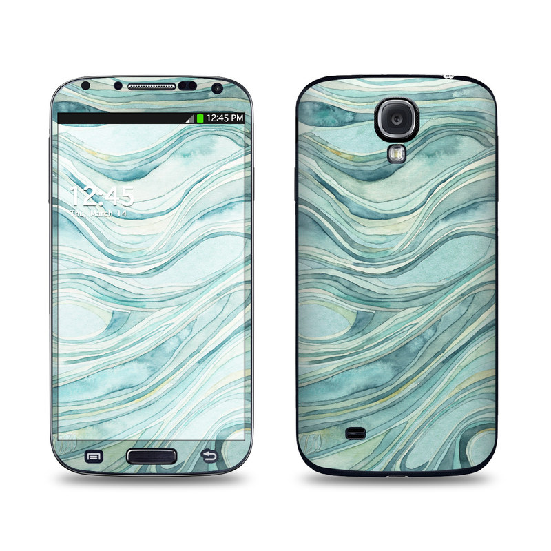 Waves Galaxy S4 Skin