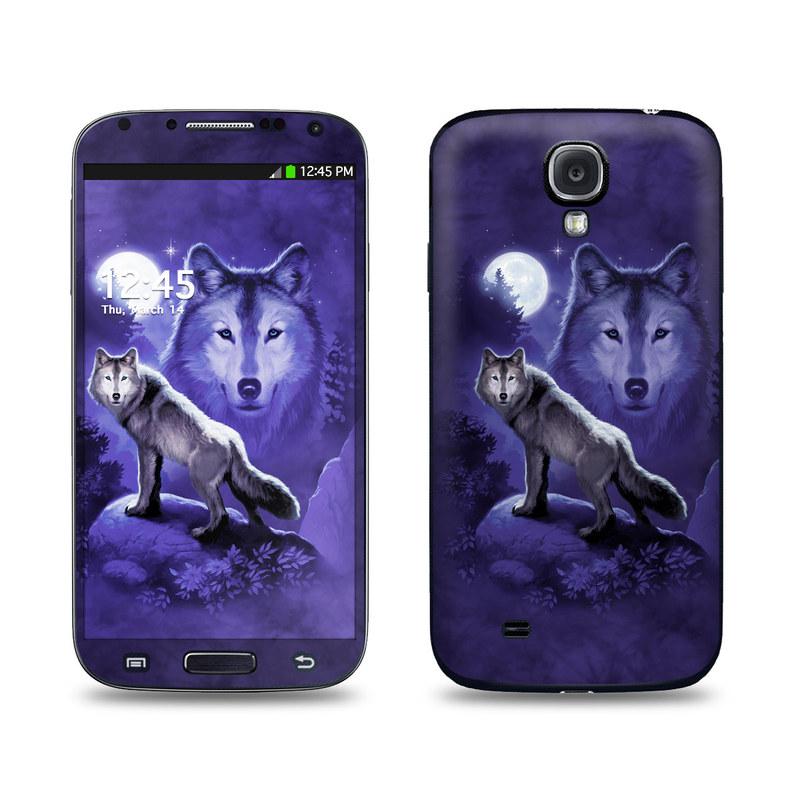 Wolf Galaxy S4 Skin