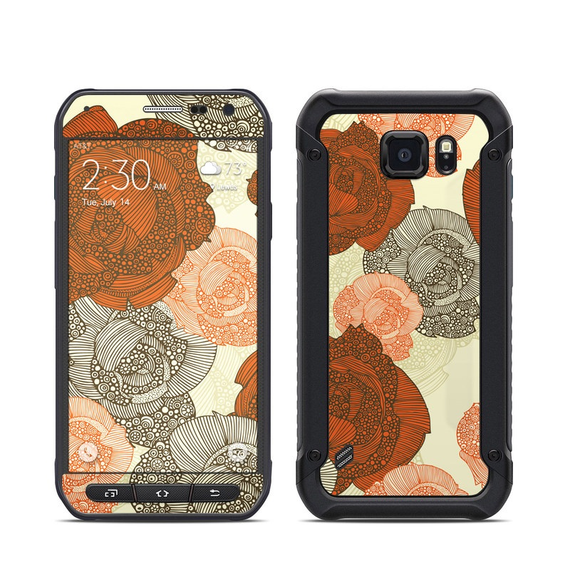 Roses Galaxy S6 Active Skin
