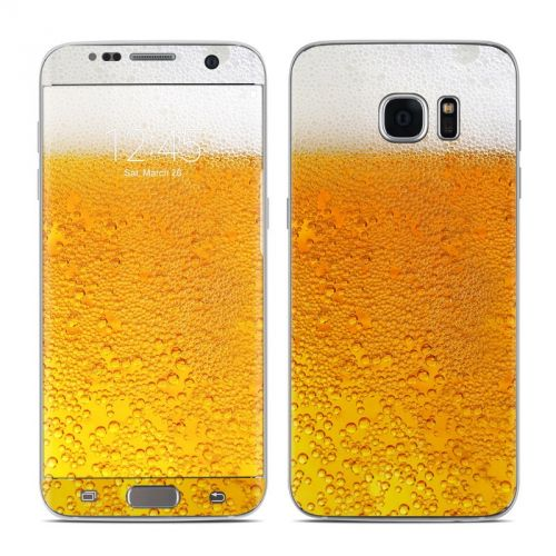 Beer Bubbles Galaxy S7 Edge Skin