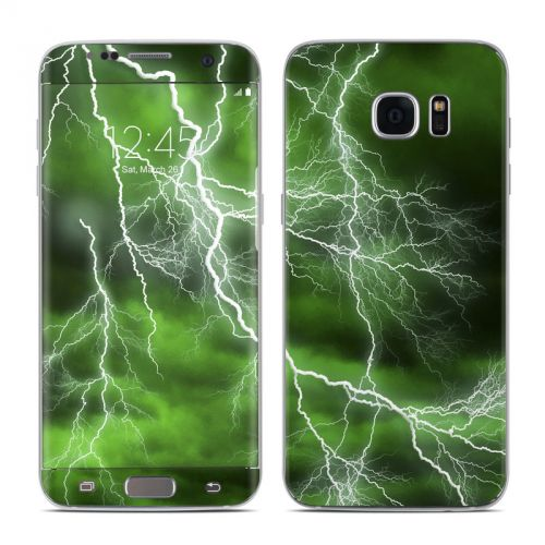 Apocalypse Green Galaxy S7 Edge Skin