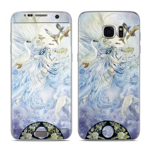 Aquarius Galaxy S7 Edge Skin