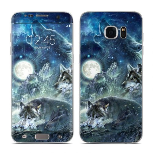 Bark At The Moon Galaxy S7 Edge Skin