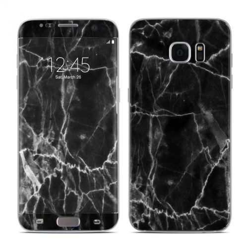 Black Marble Galaxy S7 Edge Skin