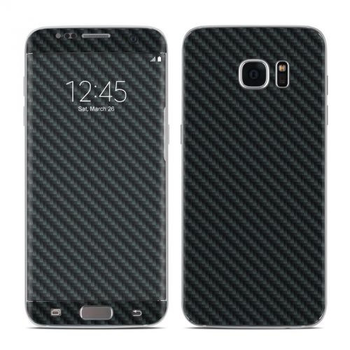 Carbon Galaxy S7 Edge Skin