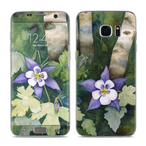 Colorado Columbines Galaxy S7 Edge Skin