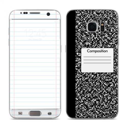 Composition Notebook Samsung Galaxy S7 Edge Skin