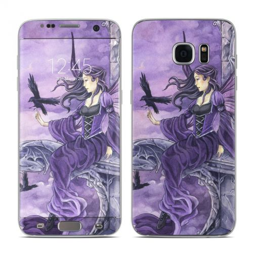 Dark Wings Galaxy S7 Edge Skin