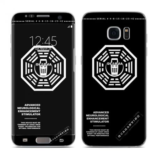 Dharma Black Galaxy S7 Edge Skin