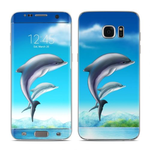 Dolphins Galaxy S7 Edge Skin