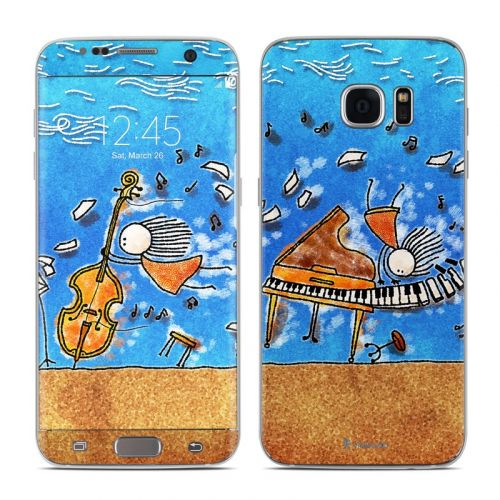 Music is Power Galaxy S7 Edge Skin