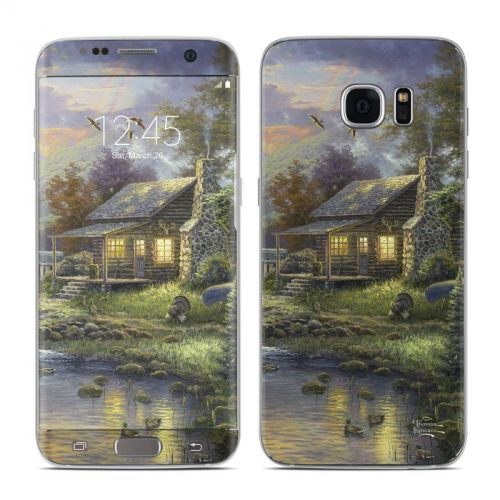 Natures Paradise Galaxy S7 Edge Skin