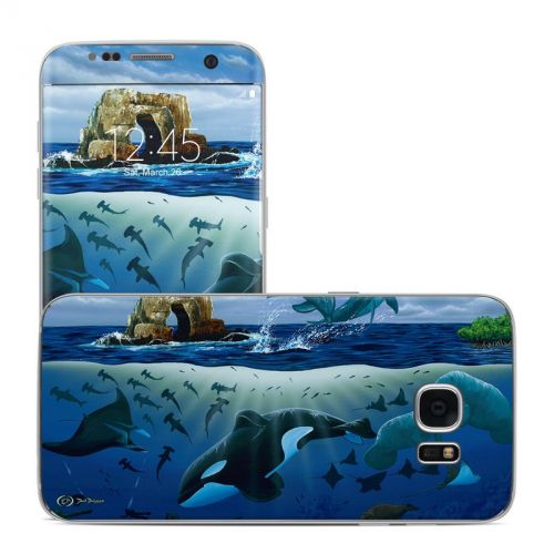 Oceans For Youth Galaxy S7 Edge Skin