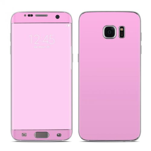 Solid State Pink Galaxy S7 Edge Skin