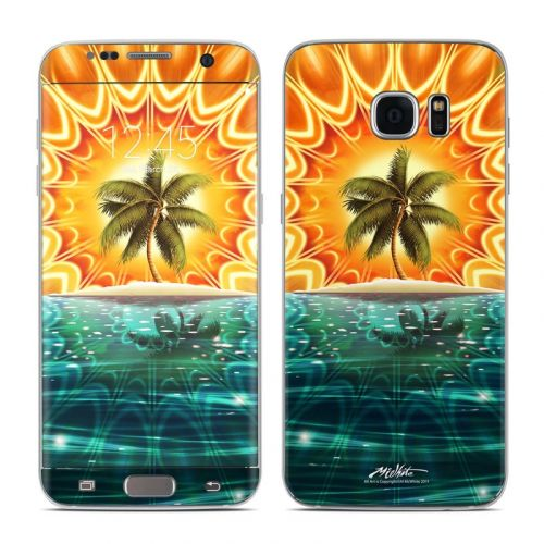 Sundala Tropic Galaxy S7 Edge Skin