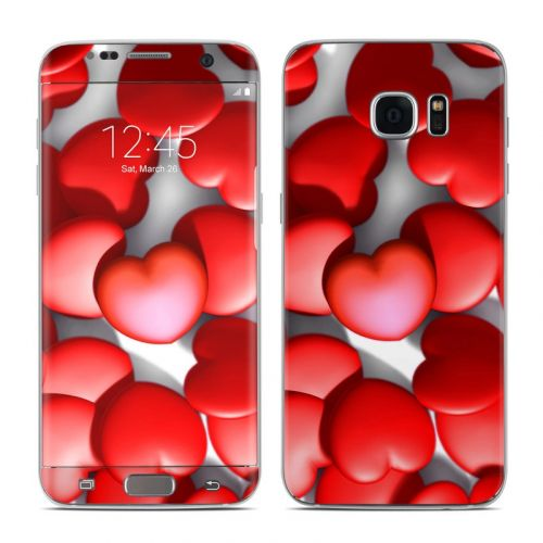 Sweet Heart Galaxy S7 Edge Skin