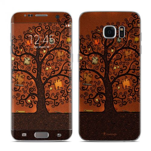 Tree Of Books Samsung Galaxy S7 Edge Skin