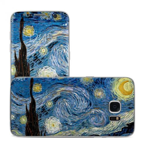 Starry Night Galaxy S7 Edge Skin