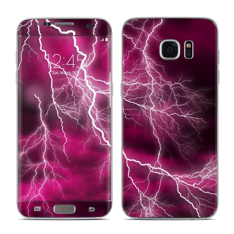 Apocalypse Pink Galaxy S7 Edge Skin