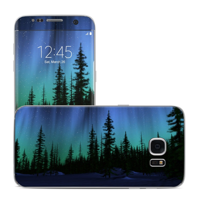 Aurora Galaxy S7 Edge Skin