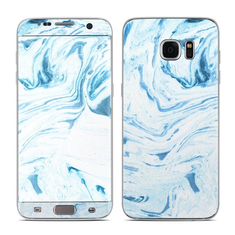 Azul Marble Galaxy S7 Edge Skin