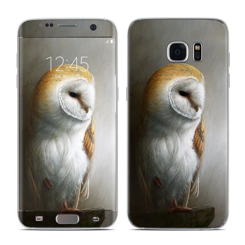 Barn Owl Galaxy S7 Edge Skin