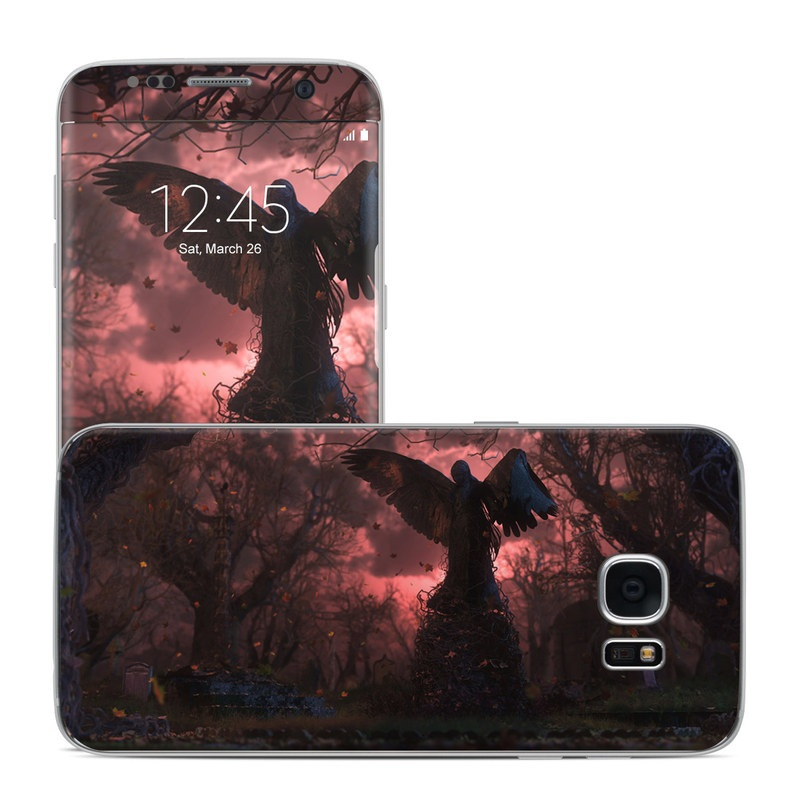 Black Angel Galaxy S7 Edge Skin