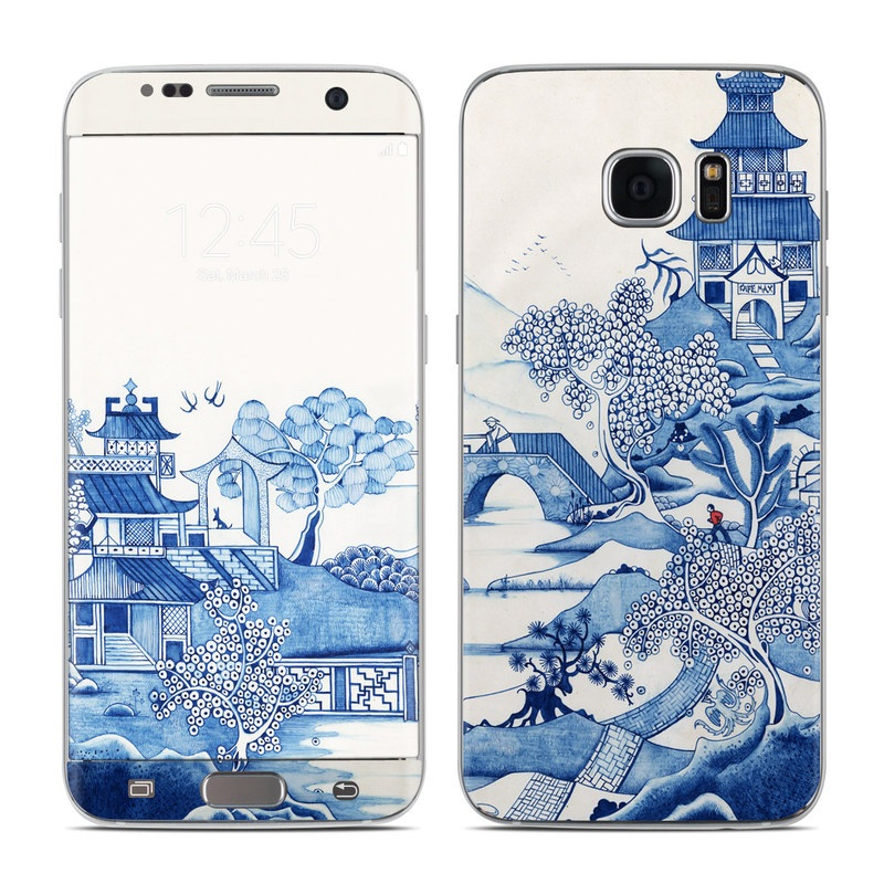 Blue Willow Galaxy S7 Edge Skin