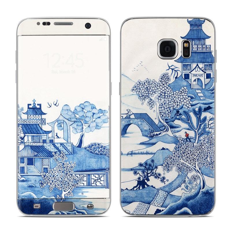 Blue Willow Galaxy S7 Edge Skin